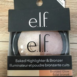 3/$12 NEW elf Baked Highlighter Bronzer Bronzed